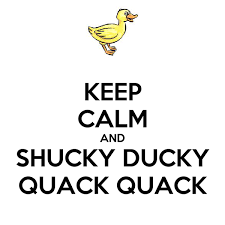 KEEP CALM AND SHUCKY DUCKY QUACK QUACK Poster   Langenburger ...