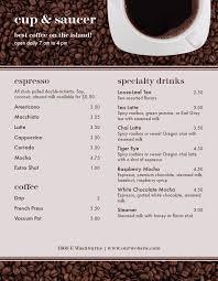 Cafe Menu Template Find The Perfect Menu Template Musthavemenus