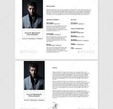 12 Best 15+ Photographer Resume Template Word, Psd Format Images On ...