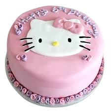 Hello Kitty Custom Cake