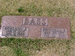 "Priscilla ""Pat"" Franklin Bass (1913-2001) - Find A Grave Memorial"