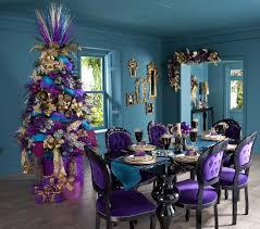 beautiful blue purple dining room decorating ideas