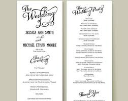 wedding reception program templates free download filipino wedding reception program images wedding decoration ideas