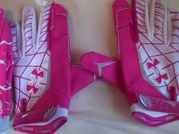 under armour breast cancer. under armour warp speed football gloves review (breast cancer awareness) breast r