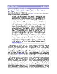 impact factor american journal of clinical nutrition