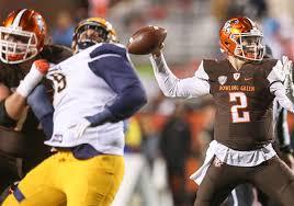 West Virginia University Football Depth Chart Former Bg Quarterback Doege Lands At West Virginia Toledo