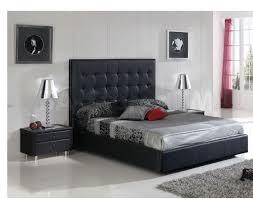 penelope storage bed  tufted black    furniture
