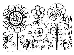 Coloring Pages Of A Flower Paint Coloring Pages Pics Page Flower