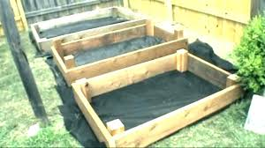 garden box plans elevated planter captivating vegetable standing