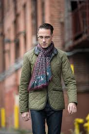 Weekend Casual Style With a Quilted Jacket - He Spoke Style & mens quilted lavenham jacket Adamdwight.com