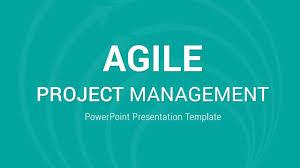 Powerpoint Project Management Templates Agile Project Management Powerpoint Presentation Template