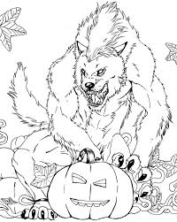 Small Picture Scary coloring pages werewolf ColoringStar