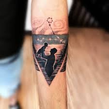 Father Son Tattoo Father Son Fatherandson Love Baby Tattoo