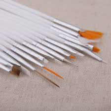 Fashion 20pcs Nail Brush Nail Art Design Painting Dotting ...