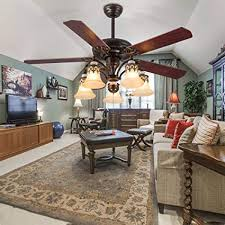 dining room ceiling fan. Plain Room Tropicalfan Vintage Ceiling Fan WIth 5 Light Cover Decorative Home Living  Room Dinner Fans Quiet Intended Dining N