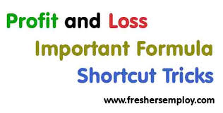 Profit Loss Formula Profit And Loss Important Formula And Tricks Freshersemploy