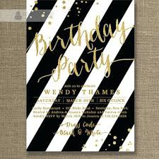 Red And Black Party Invitations Noorwood Co
