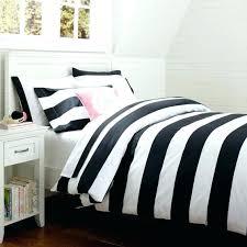 black and white striped bedding cottage stripe duvet cover sham quilt fabric navy blue navy and white striped bedding