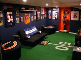 Best Sports Man Caves Lets Design The Cave For You Pictures Of Themed  Basements Basement Ideas