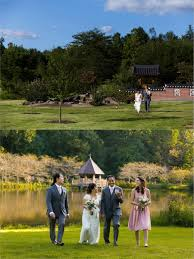 wedding at another location but when it was not possible to get where we wanted to be we selected meadowlark botanical gardens in vienna