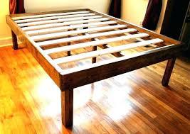 Tall Bed Frames Queen Frame Platform Beds High Profile Upholstered ...