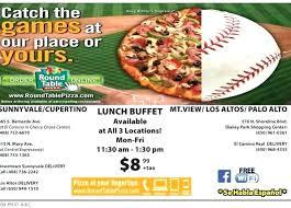 round table ca com pizza buffet san go
