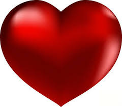 red big heart