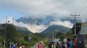 Image result for Runtuhan Batu Di Kaki Gunung Kinabalu | Penduduk Diminta Berwaspada