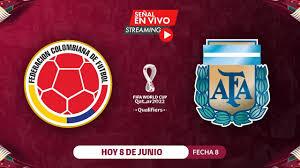 COLOMBIA VS ARGENTINA   EN VIVO   ELIMINATORIAS QATAR 2022