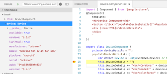 Apache Cordova Apps - Angular and TypeScript Coding