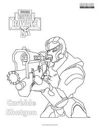 Image Result For Fortnite Coloring Pages Carbide Art Nel 2019