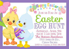 Amazon Com Easter Egg Hunt Invitations Easter Party