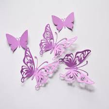 purple erfly wall decor birthday paper erflies 3d paper erflies erfly party decoration