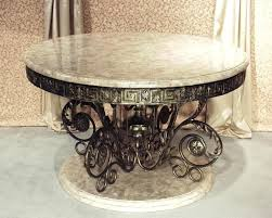 round table foyer top round entryway table with description grand entryway round table inlaid cantor fossil