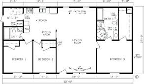 double wide floor plans 3 bedroom. Delighful Wide Cozy 3 Bedroom Trailer Floor Plans Double Wide 4  Mobile Home  And R