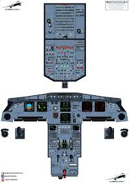 Airbus A320 Crt Cfm Eis Cockpit Training Posters 100 Accurate 3d Artwork Free Shipping