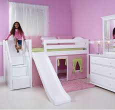 Playhouse Loft Bed With Stairs And Slide Playhouse Loft Bed With