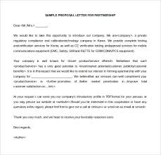 Sales Proposal Letter Stunning 48 Business Letter Of Intent Templates PDF DOC Free Premium