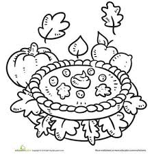 Small Picture Printable Fall Coloring Pages
