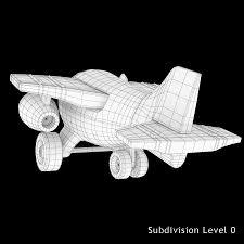 玩具飞机3d模型49 Max Obj 3ds Free3d
