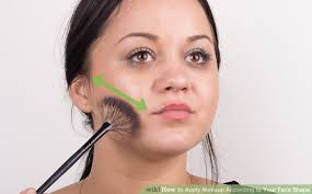 image led apply makeup according to your face shape step 6
