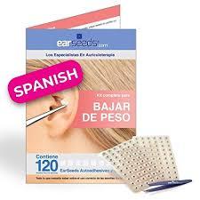 Weight Loss Chart Amazon Amazon Com Ear Seeds Weight Loss Chart Spanish Edition