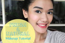 you premium you premium fresh natural makeup tutorial indonesian