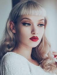 rockabilly or pinup makeup looks