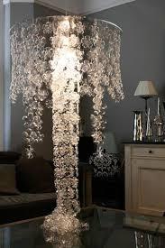 bottoms of soda bottles to make a chandelier