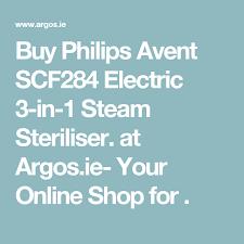 Argo Steam Charts Buy Philips Avent Scf284 Electric 3 In 1 Steam Steriliser