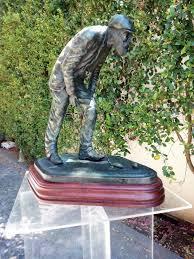 old tom morris bronze golfer statue