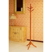 Coat Rack Oak Frenchi Home Furnishing Cherry 100Hook Coat RackJW100AC The Home 36