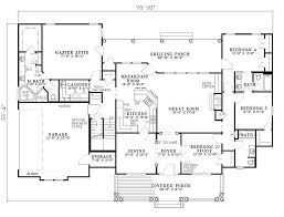 4 bedroom 3 bath house plans.  House Southern Style House Plan  4 Beds 300 Baths 2373 SqFt 17 Intended Bedroom 3 Bath Plans O