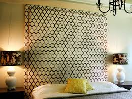 stick it on the wall this headboard is so easy